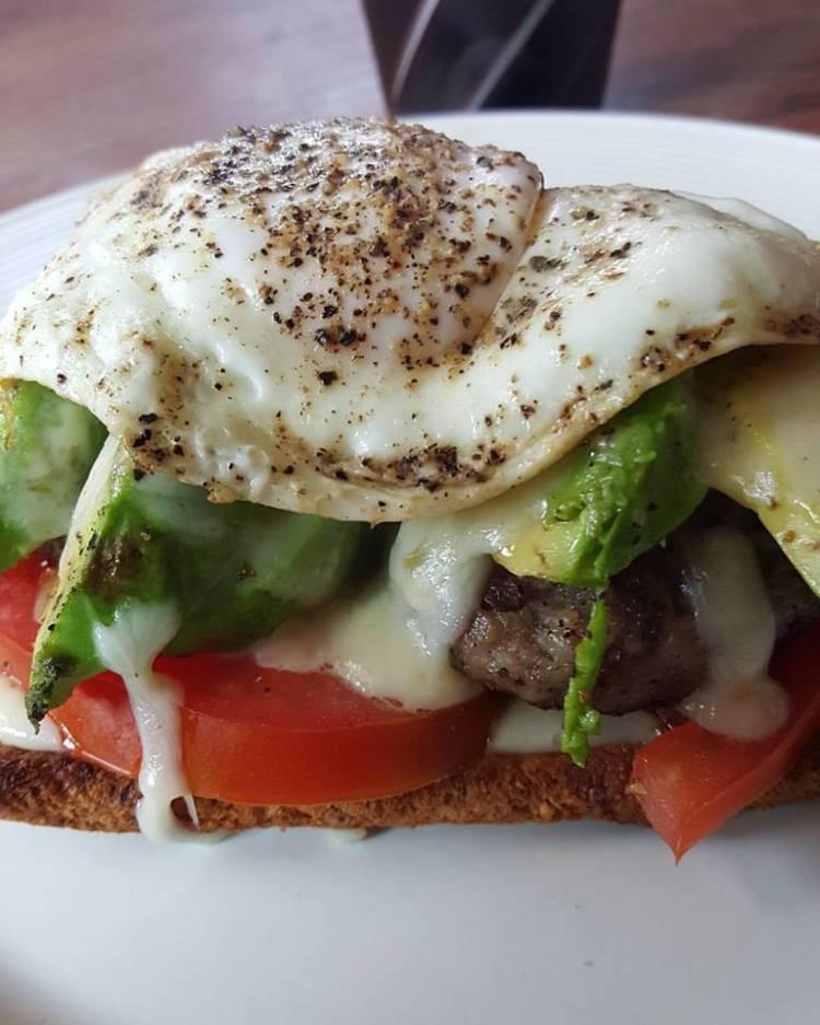 Breakfast Avacado Melt