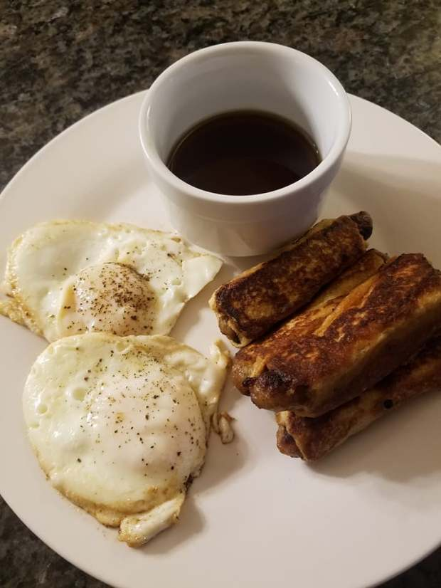 Breakfast Sausage French Toast 2jpg